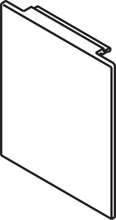 Blendenendstück-Set für Deckenmontage