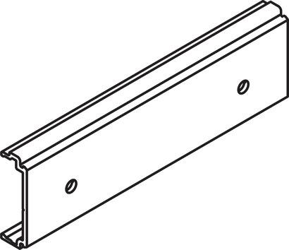 Clip-Teil für Holz- und Alublende