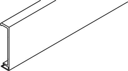 Clipblende zu Aufnahmeprofil für Sturzverblendung