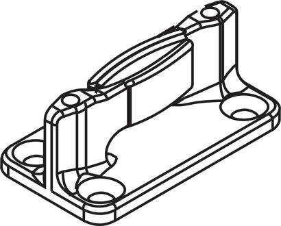 Bodenführung Nutbreite 10mm