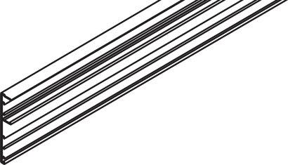 Clip-Blende zu Laufschiene Junior 80/100 Z