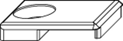 Stulpniederhalter für Stulpflügelgetriebe