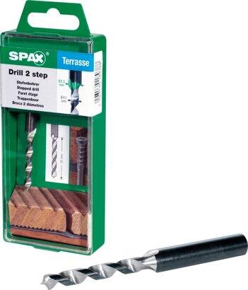Stufenbohrer drill 2 step