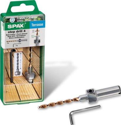 Bohrsenker step drill 4 mm
