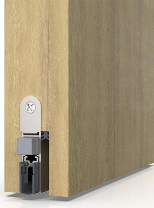 Schiebetürdichtung Schall-Ex® Slide M-12 WS, Silikon