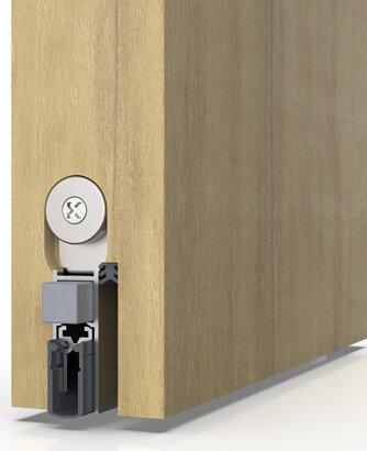 Schiebetürdichtung Schall-Ex® Slide&Lock M-12 WS, Silikon