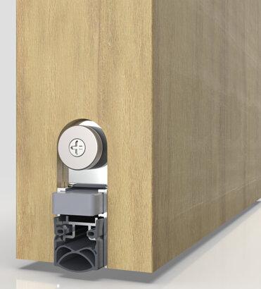 Schiebetürdichtung Schall-Ex® Slide&Lock M-20 WS, Silikon