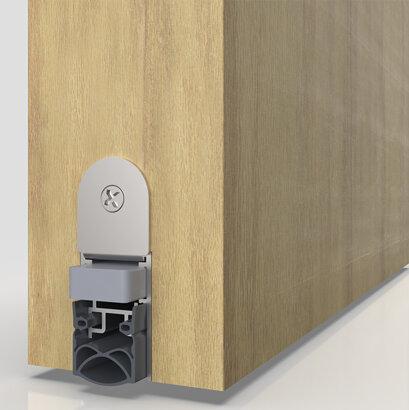 Schiebetürdichtung Schall-Ex® Slide M-20 WS, Silikon