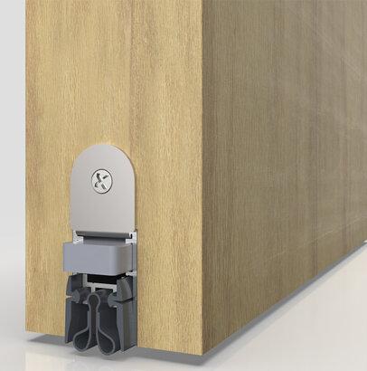 Schiebetürdichtung Schall-Ex® Slide M-20 WS Strahlenschutz, Silikon