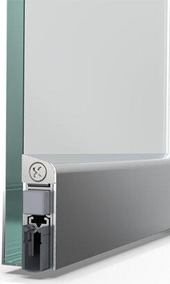 Schiebetürdichtung Schall-Ex® Slide GS-8, Silikon