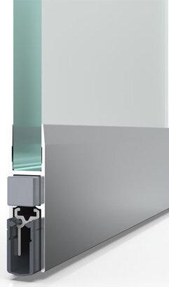 Schiebetürdichtung Schall-Ex® Slide GS-H10, Silikon
