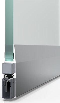 Schiebetürdichtung Schall-Ex® Slide GS-H8, Silikon