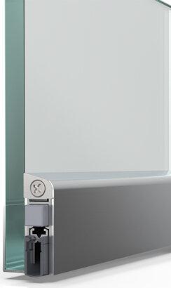Schiebetürdichtung Schall-Ex® Slide GS-10, Silikon