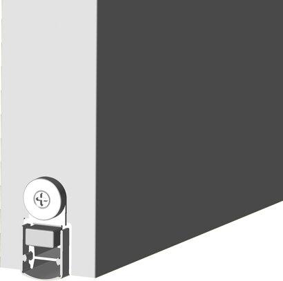 Schiebetürdichtung Schall-Ex® Slide&Lock L-20/20 WS, Silikon