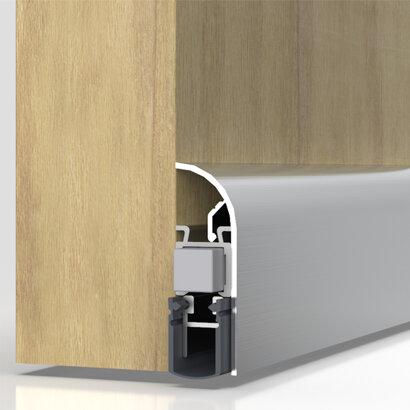 Schiebetürdichtung Schall-Ex® Slide Applic A, Silikon