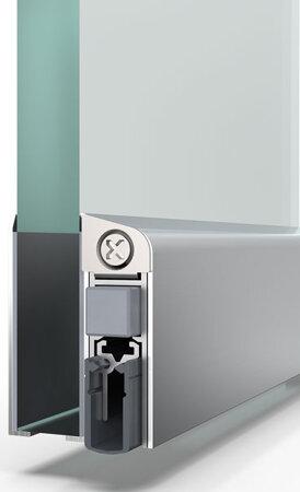 Schiebetürdichtung Schall-Ex® Slide GS-A, Silikon