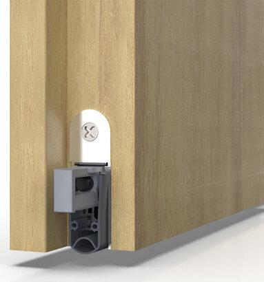 Türabsenkdichtung Schall-Ex® L-15/30 WS, Silikon