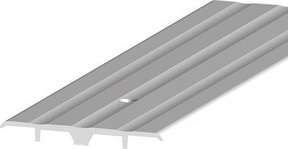Teppich-/Laminatübergangsprofil 277, gebohrt, Aluminium