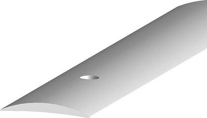 Teppich-/Laminatübergangsprofil 253, ungebohrt, Aluminium