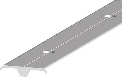 Teppich-/Laminatübergangsprofil 088, ungebohrt, Aluminium