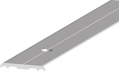 Teppich-/Laminatübergangsprofil 308, gebohrt, Aluminium