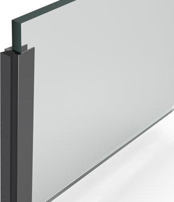 Bürstendichtung Glasdicht UB-8-5, Aluminium