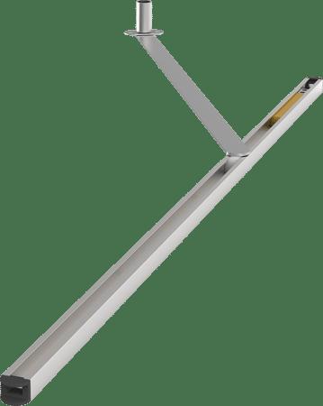Türöffnungsbegrenzer Porti 400, Aluminium