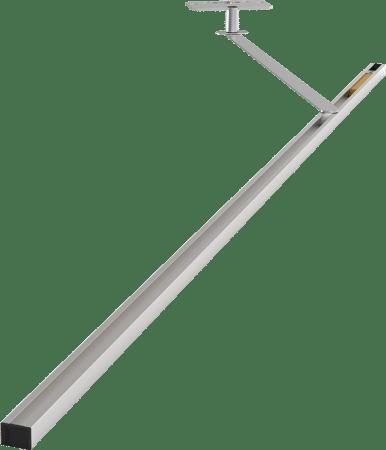 Türöffnungsbegrenzer Porti 5487, Aluminium