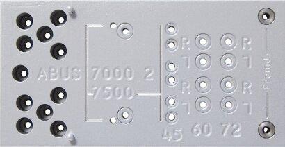 Bohrschablone 7000+, 7500
