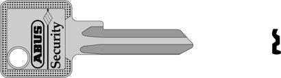 Schlüsselrohling CMSR, Messing
