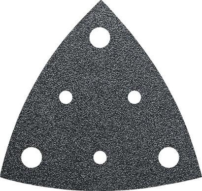 Schleifblätter Dreieck gelocht