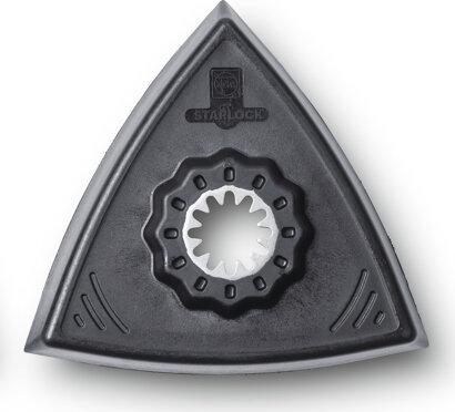 Schleifplatte Dreiecksform ungelocht Standard SL