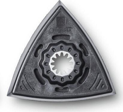 Schleifplatte Dreiecksform gelocht Standard SL