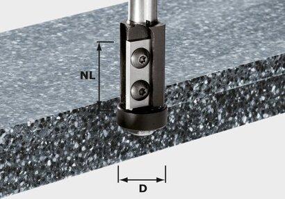 Bündigfräser-Wendeplatten HW S12