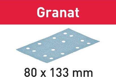 Schleifstreifen STF 80X133 Granat