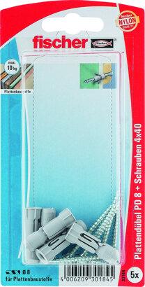 Plattendübel PD-S K mit Schraube