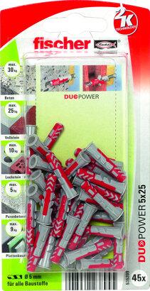 2-Komponenten Kunststoffdübel DUOPOWER im Blister