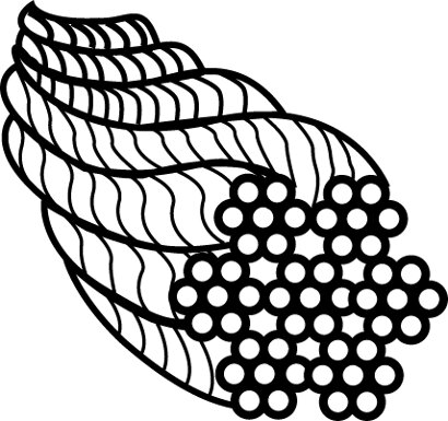 Drahtseil Wireclip WI