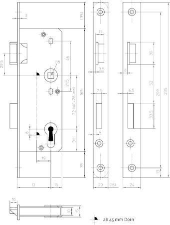 Glastürschloss Klasse 2