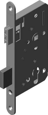 Magnet-Einsteckschloss für stumpfe Türen