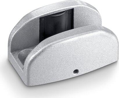 Glasbodenführung einstellbar Levolan/Perlan/Rollan, Aluminium
