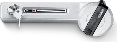 Aufliegendes Fenstergetriebe F 1200, abschließbar, Aluminium