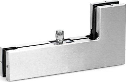 Winkelverbindungsbeschlag Glass Fitting PT 40, Edelstahl
