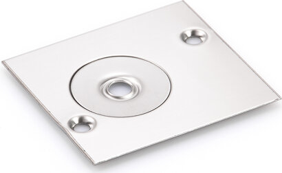Deckplatte für Drehlager für TS 137b/32b, Edelstahl
