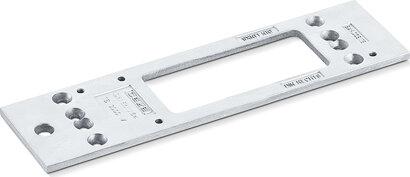 Montageplatte für TS 3000, Aluminium