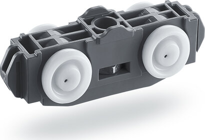 Doppelrollenwagen Rollan 80, Kunststoff