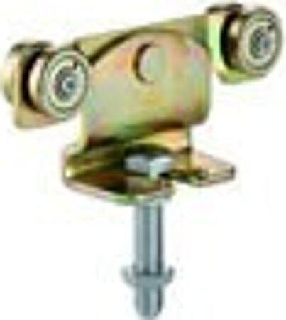 Rollapparat mit Schraube