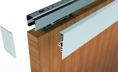 Clipsblende für Modul Kozept 80, für Holz, Aluminium