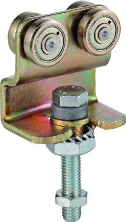 Rollapparat mit Schraube für drehende Bewegung