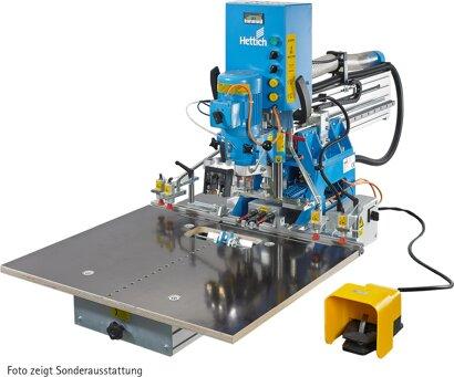 Bohr- und Einpressautomat BlueMax Mini Modular Plus, ohne Horizontalbohrgetriebe
